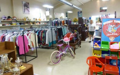 Resale Shop Inside